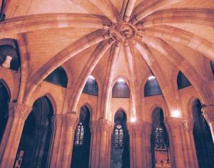 Tratamiento de humedades en la Cripta de la Sagrada Familia