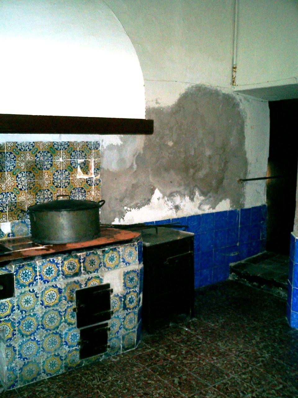 Humedades Capilaridad Restauración de Patrimonio _ Antes
