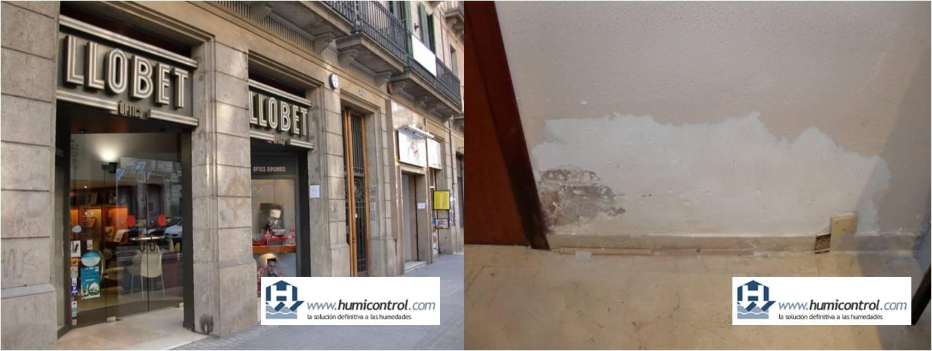 Antihumedad: Tratamiento humedades capilaridad en paredes