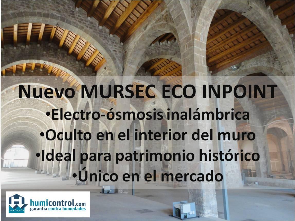 Electroósmosis inalámbrica para el tratamiento de humedades de capilaridad en monumento histórico