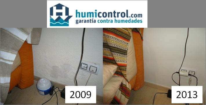 Tratamiento de humedades en paredes