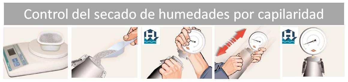 Control del secado de humedades por capilaridad