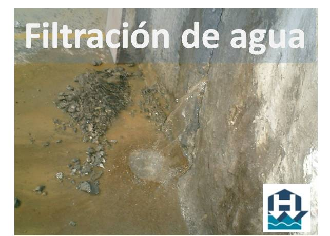 Filtracion agua en sotano