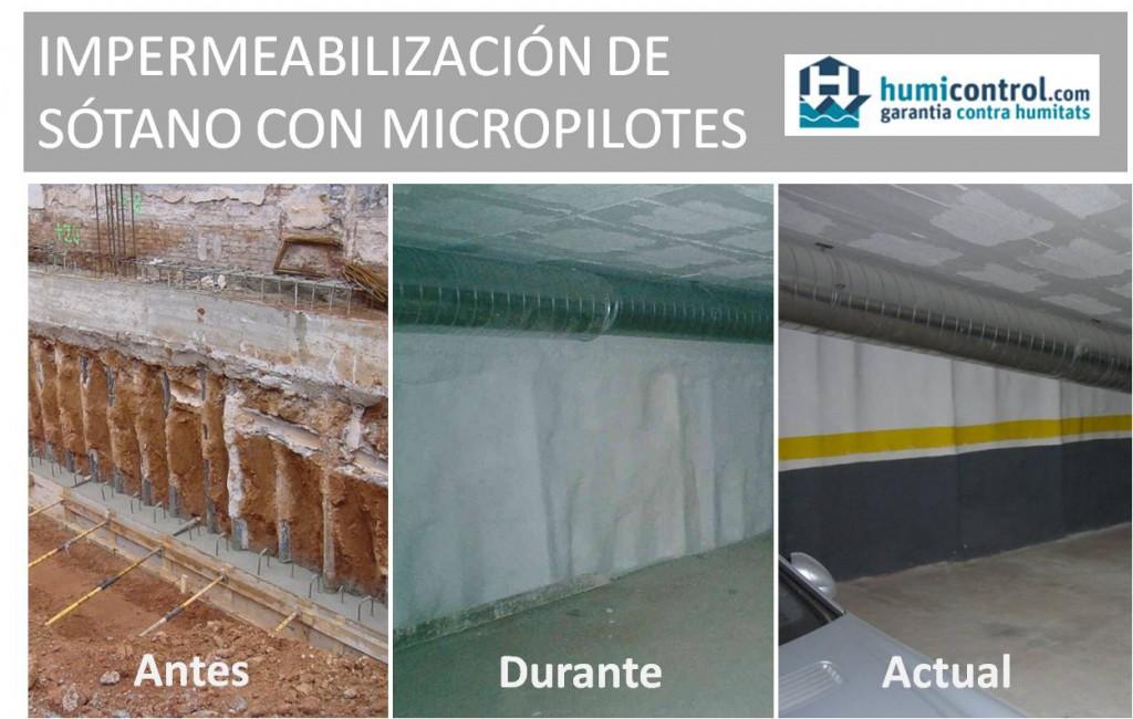 filtraciones agua sotanos humicontrol