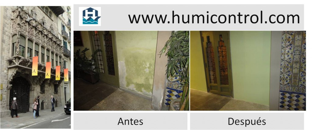 Tratamiento de humedades de capilaridad o condensaci n - Humedad en pared ...