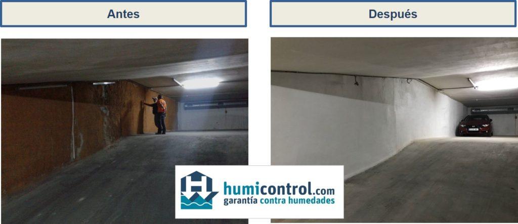 Filtracions de agua en sótano