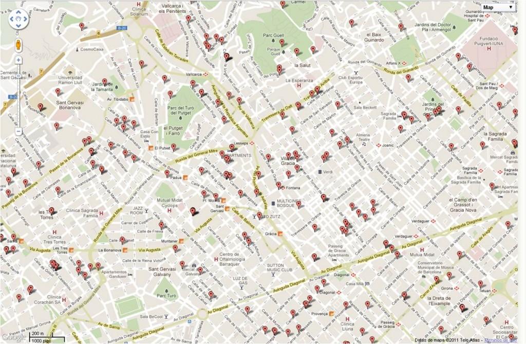 Tratamiento humedades Barcelona (barrio de Gràcia)
