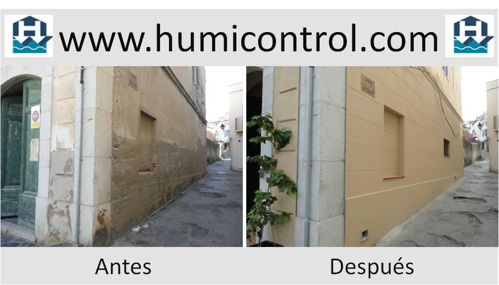 Humedades en fachadas