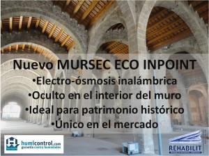 Electroósmosis inalámbrica en monumento histórico